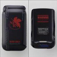 エヴァンゲリオン iPhone3G(S)専用筐体保護型蓄電器 NERVモデル