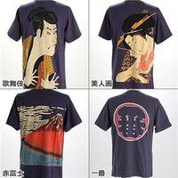 和柄Tシャツ2