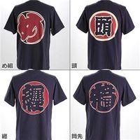和柄Tシャツ3