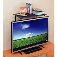 液晶テレビ上のせ便利アイデアラック1